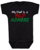 Bad Hombre Baby Onesie, my dad is a bad hombre, bad dude bad hombre, funny trump baby onesie, funny political baby onesie, bad hombre infant bodysuit, black