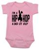Hip Hop kind of guy baby onesie, hip hop kind of girl baby onesie, Cool Easter baby bodysuit, funny easter onsie, hip hop music baby onesie, Easter baby gift for hip parents, I'm a hip hop kind of guy, pink