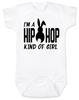 Hip Hop kind of guy baby onesie, hip hop kind of girl baby onesie, Cool Easter baby bodysuit, funny easter onsie, hip hop music baby onesie, Easter baby gift for hip parents, I'm a hip hop kind of girl