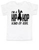 Hip Hop kind of guy toddler shirt, hip hop kind of girl toddler shirt, Cool Easter kid tshirt, funny easter toddler shirt, hip hop music kid shirt, Easter toddler gift for hip parents, I'm a hip hop kind of girl, white