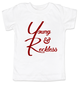 The young and reckless toddler shirt, the young and the restless toddler tshirt, The Young & The Reckless, Young & Reckless kids, Soap Opera toddler gift
