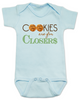 Cookies are for closers baby onesie, Boss Baby onesie, funny boss baby gift, blue