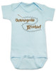 Unmanageable Mischief baby onesie, funny harry potter baby onesie, baby gift for harry potter fans, Mischief Managed baby onsie, Marauders Map baby onesie, Harry Potter infant bodysuit, snuggle this muggle, Hogwarts baby gift, blue