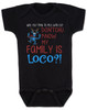 My family is crazy baby onesie, My family is loco, who you tryin to mess with ese, Loco Family baby onesie, crazy family baby onsie, funny holiday baby onesie, Loco reindeer, funny christmas baby, my family is nuts, cypress hill baby onesie, black