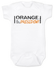 Orange is the new President, funny trump baby onesie, Orange president baby bodysuit, President Trump baby onesie, orange is the new black parody, political baby onesie, funny president trump baby gift