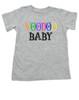 Voodoo Baby Toddler shirt, voodoo lady toddler tshirt, ween kid shirt, ween voodoo lady, voodoo baby, grey