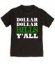 Wu-tang Clan toddler shirt, money toddler shirt, dollar dollar bills ya'll, future money maker, hip hop toddler shirt, cool kids shirt, black