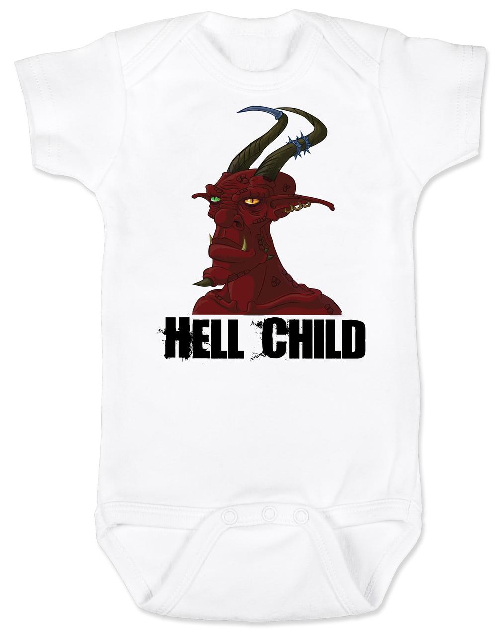 Hell Child Baby Onesie