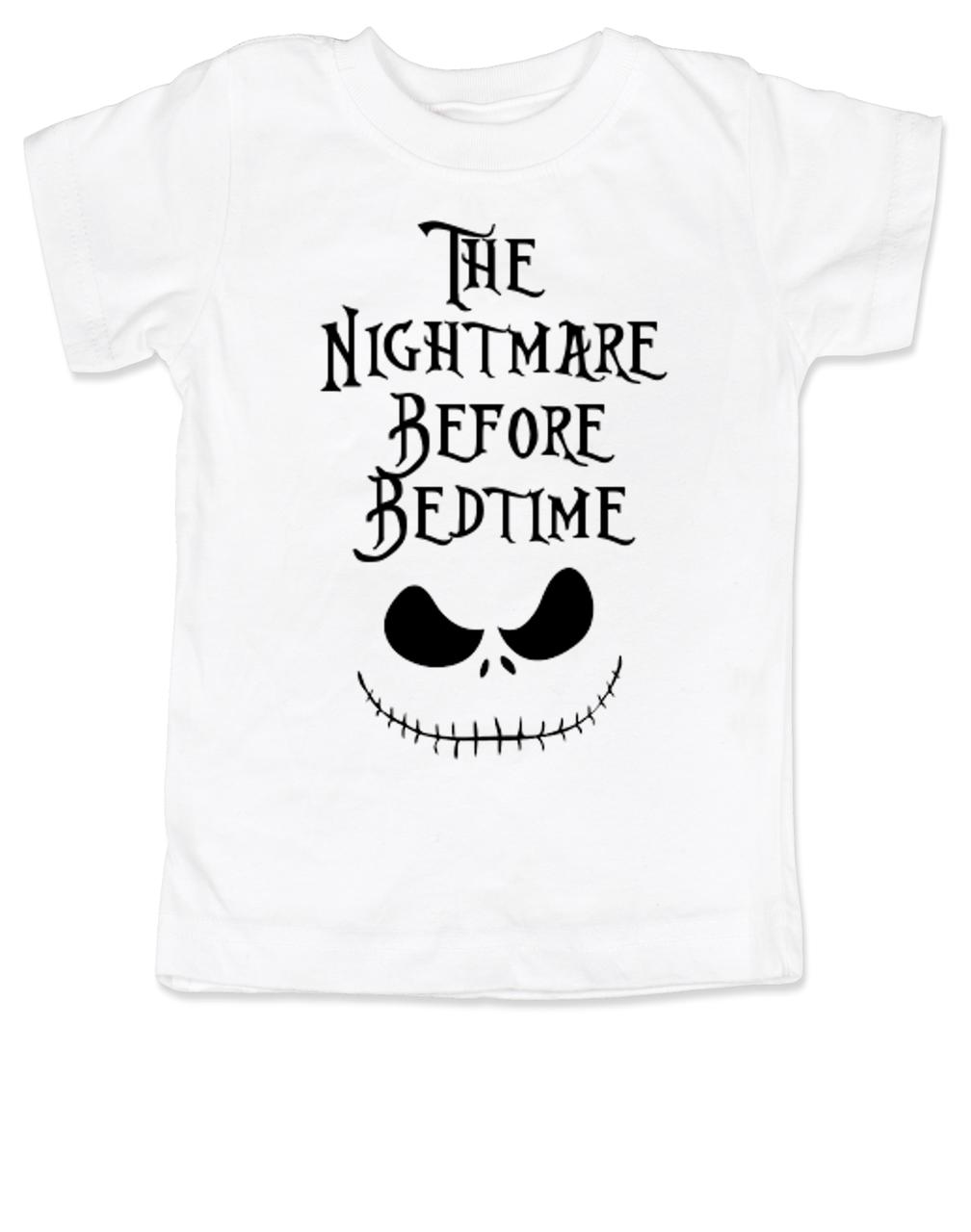 Nightmare before bedtime toddler shirt for Dark denim toddler shirt