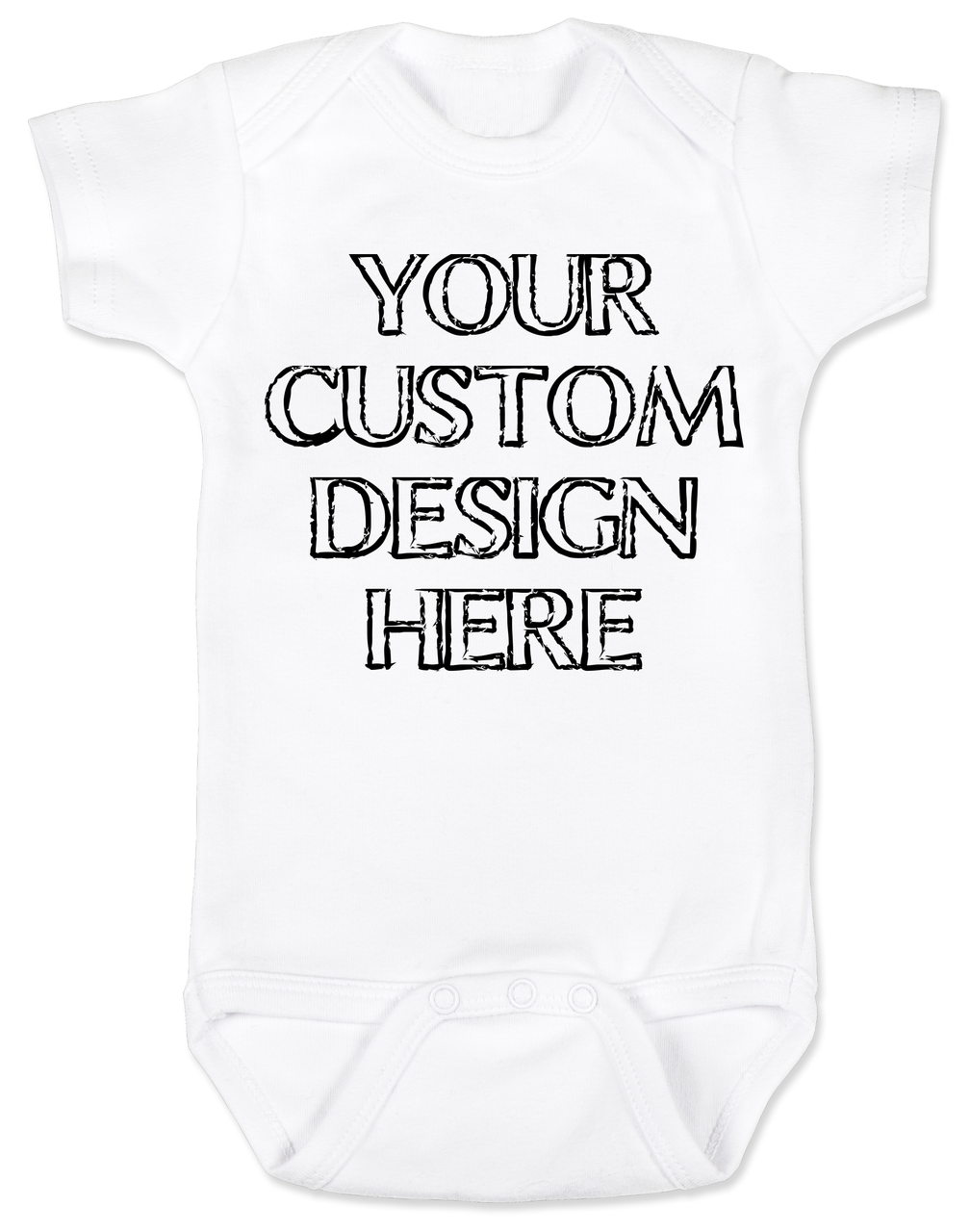 Make Your Own Custom Baby Bodysuit