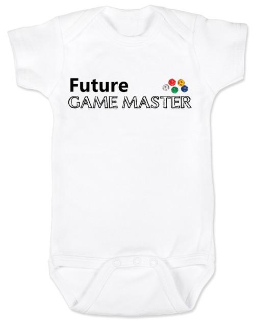 Future Game Master Baby Onesie