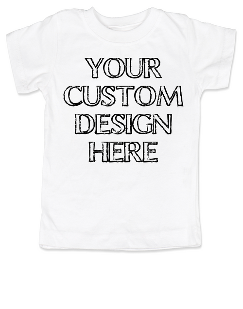 Make Your Own Custom Toddler Shirt