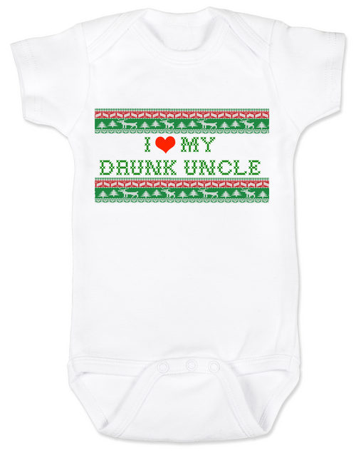 I love my drunk uncle personalized baby onesie i love my drunk uncle baby onesie funny uncle baby onesie funny baby gift negle Choice Image