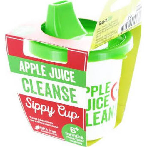 Funny Sippy Cup, Apple Juice Cleanse, Funny detox juice cup for kids, funny gift for healthy parents, baby shower gag gift, funny birthday present for toddler, sippy cup for cool kids, hipster baby sippy cup, fake juice cleanse cup for babies, baby detox juice cleanse sippy cup, novelty sippy cup