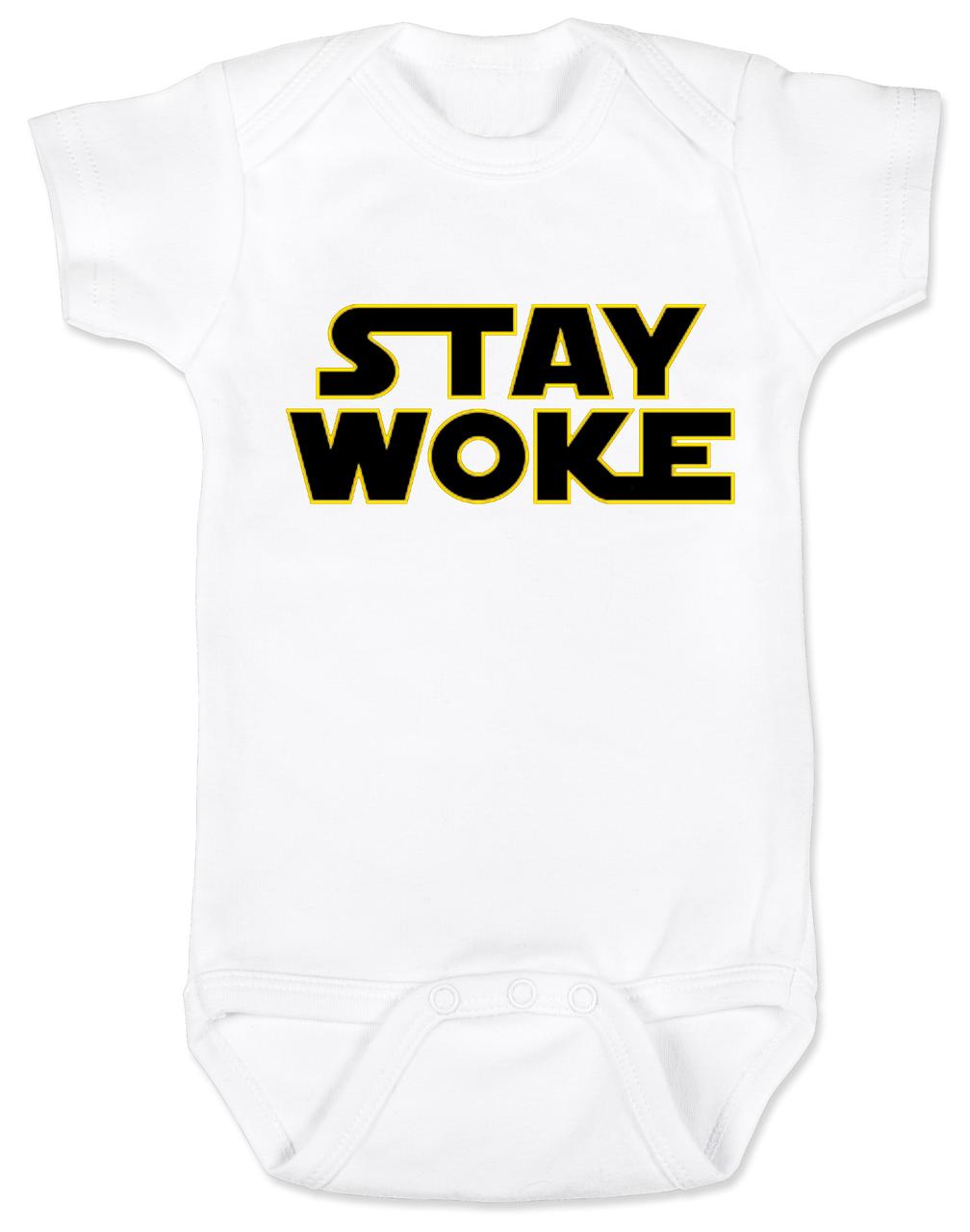 Stay Woke Baby Onesie