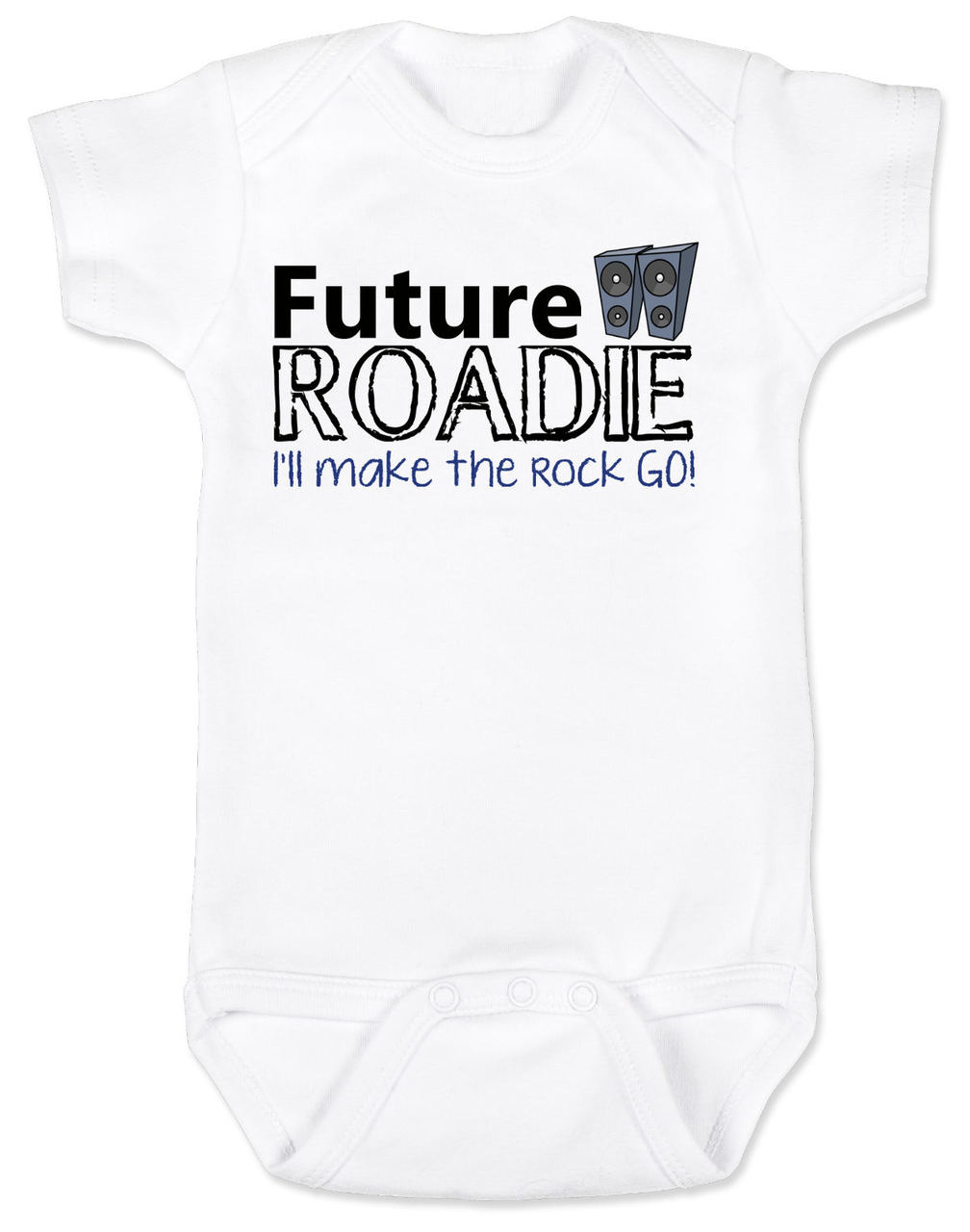 Future roadie baby onesie future roadie baby onesie roadie baby rock and roll baby gift personalized rock negle Image collections