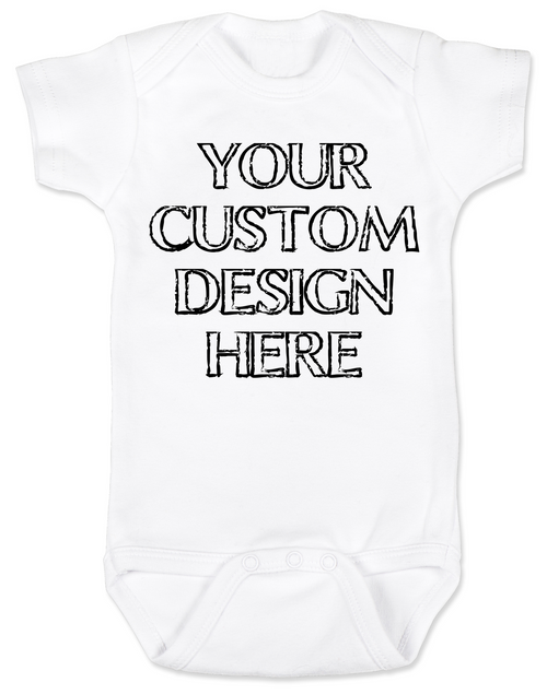 make your own custom baby bodysuit