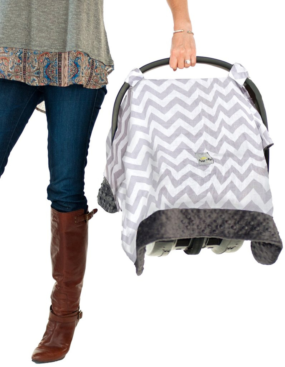Itzy Ritzy Car Seat Canopy and Tummy Time Mat