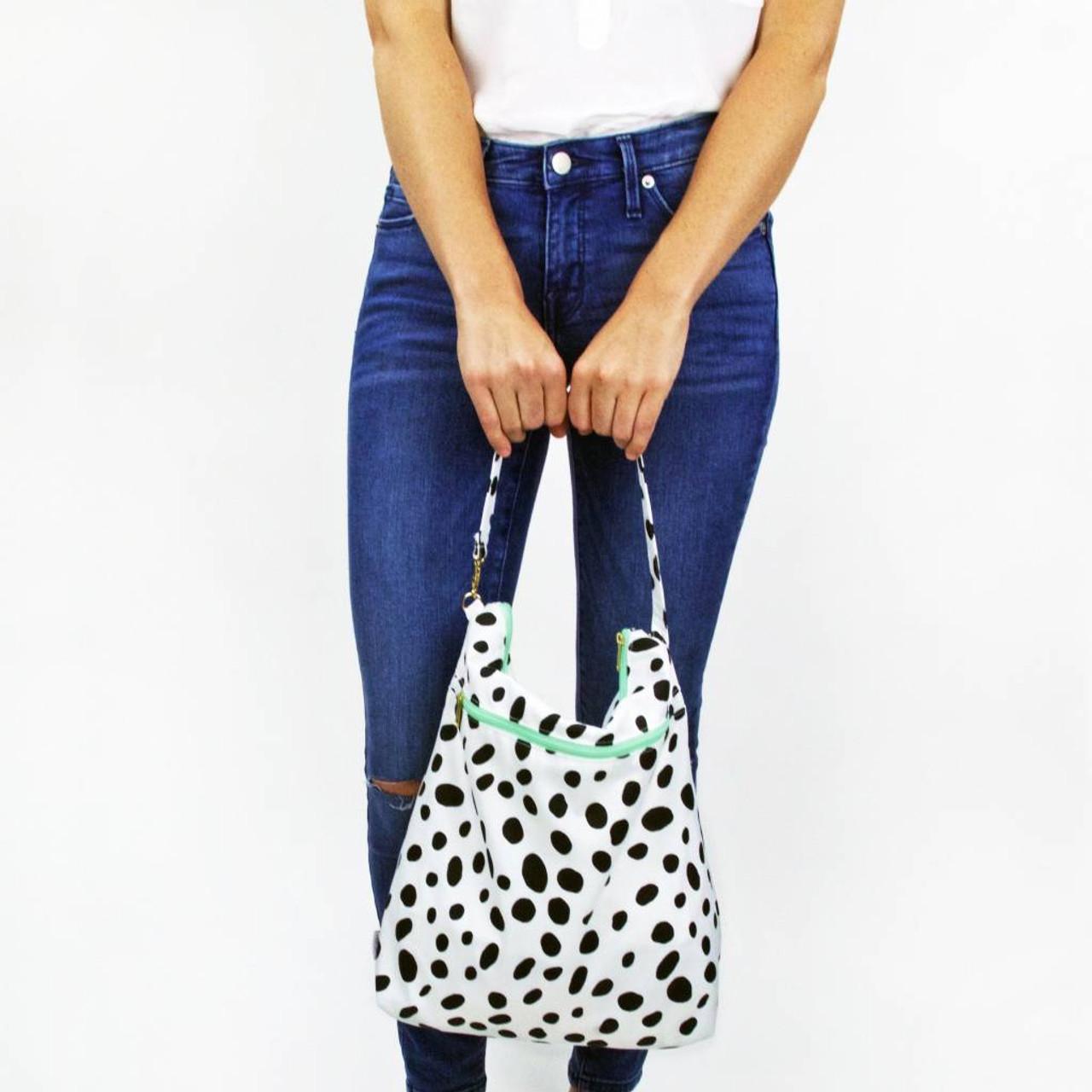 Logan & Lenora Waterproof Hobo Bag