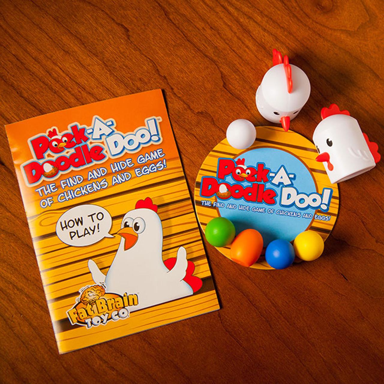 Peek-A-Doodle Doo! by Fat Brain