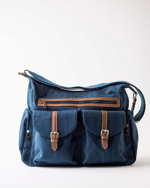 Rambler in Denim Blue by Little Unicorn