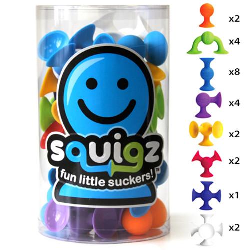 Squigz 24 pc set by Fat Brain