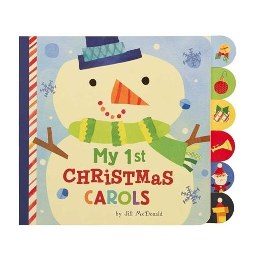 Board Book - My 1st Christmas Carols