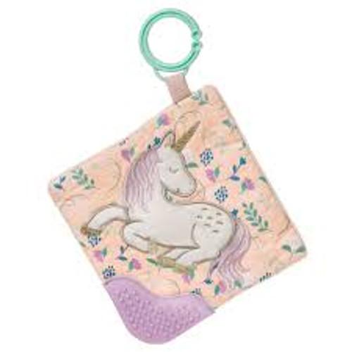 Twilight Baby Unicorn Crinkle Teether – 6×6″