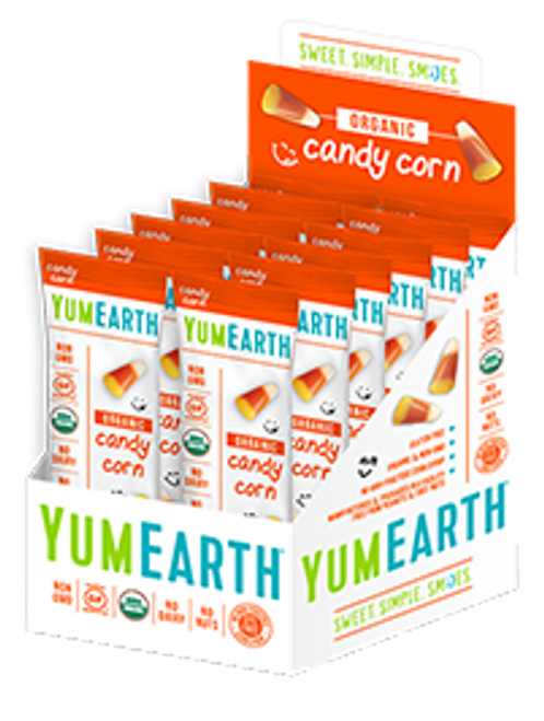 Organic Candy Corn 2oz by Yumearth