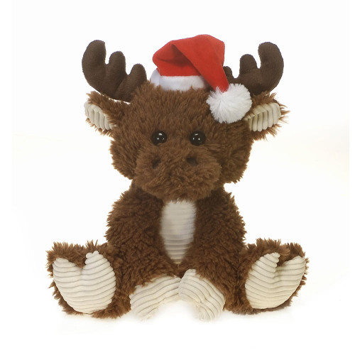 Scruffy Christmas Moose