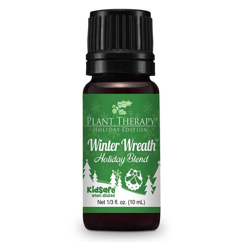 Winter Wreath Holiday Blend Essential Oil 10ml by Plant Therapy