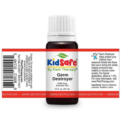 Kidsafe Germ Destroyer KidSafe Essential Oil 10 mL by Plant Therapy