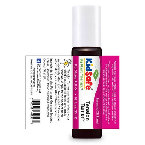 Kidsafe Tension Tamer Essential Oil 10 mL Roll On by Plant Therapy