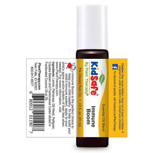 Kidsafe Immune Boom KidSafe Essential Oil 10 mL Roll On by Plant Therapy