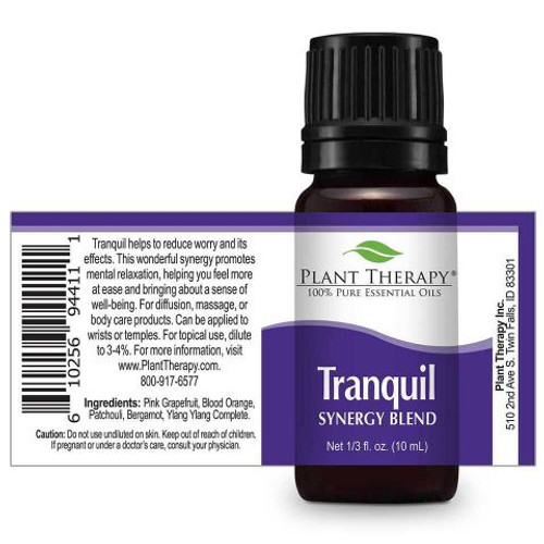Tranquil Synergy Essential Oil 10ml by Plant Therapy