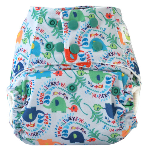 Sweet Pea Bamboo All in One Diaper OS
