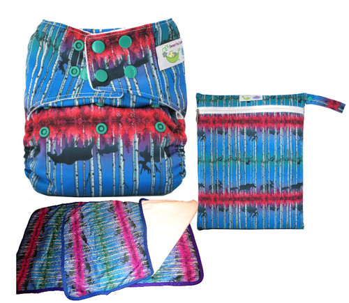 Fireweed Pocket One Size