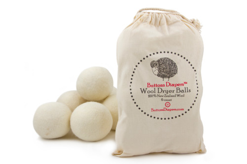 Buttons Diapers 100% Wool Dryer Balls