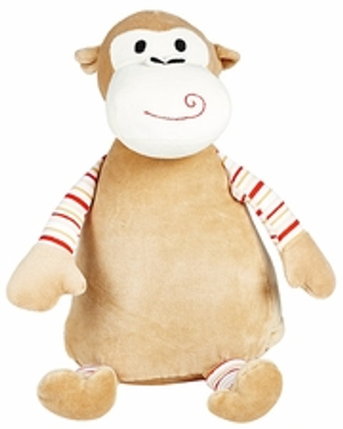 Cubbie Embroidered Striped Monkey
