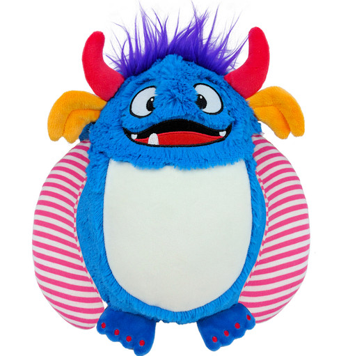 Cubbie Embroidered Blue Monster