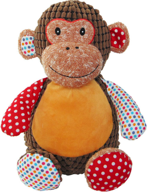 Cubbie Embroidered Harlequin Monkey