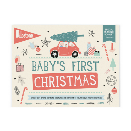 Baby's First Christmas Booklet