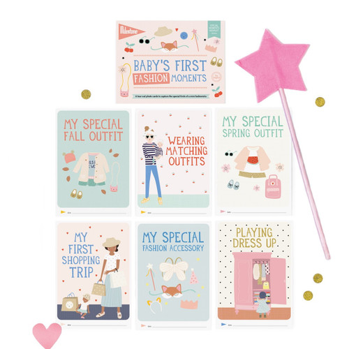 Baby's First Fashion Moments Booklet