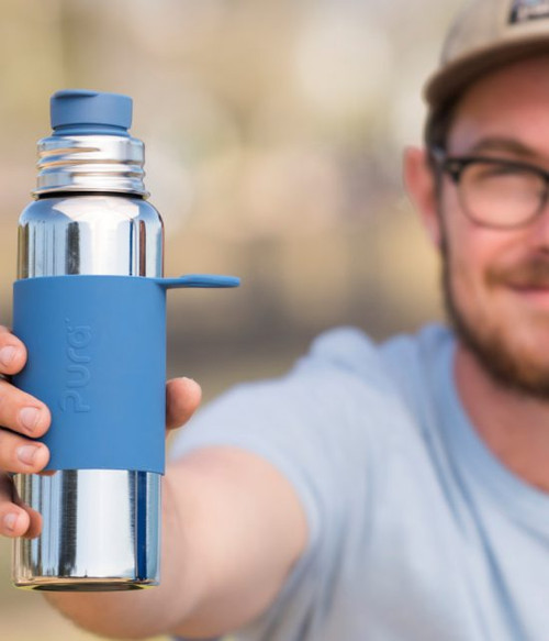 Pura 28 ounce Sport Top Bottle