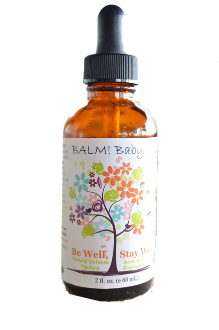 Balm Baby Be Well Stay Well Elderberry Tincture 2oz