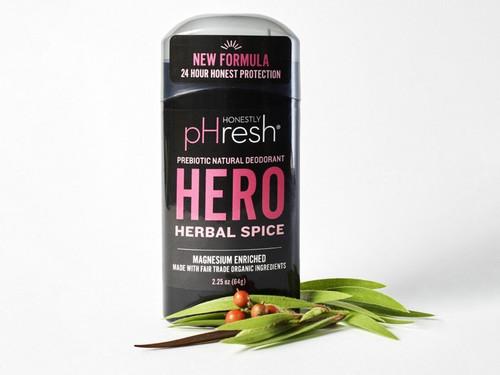 Honestly pHresh Hero Herbal Spice Men's Prebiotic Deodorant 2.25 oz