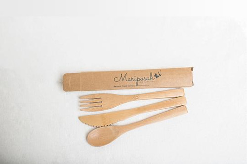 Bamboo Utensil Set Mariposah