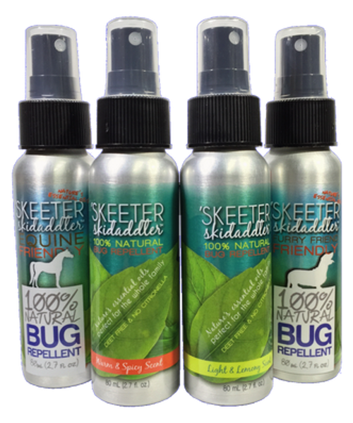 Light and Lemony Insect Repellent  Skeeter Skidaddler 2.7 oz Pump