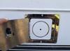 round fuel filler neck housing bezel door cover