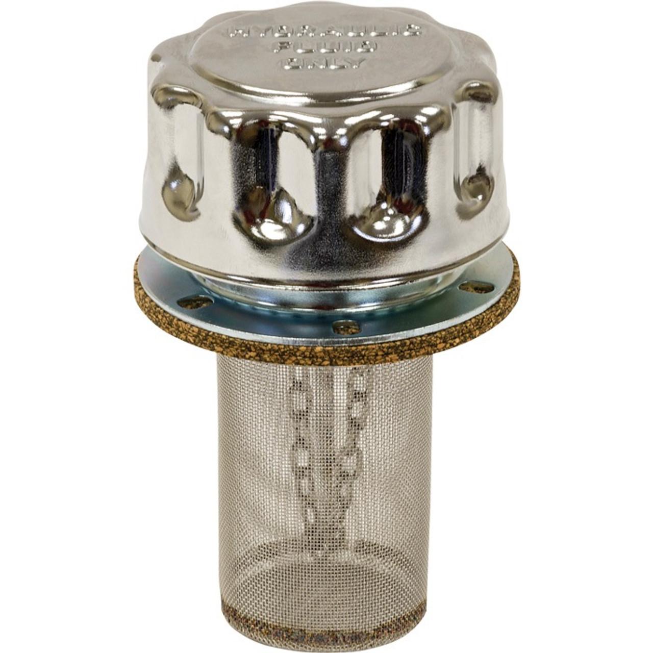 Chrome Filler Strainer Breather Cap Assembly Fta005715